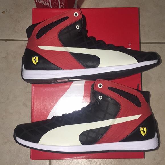 9f8af702a059 Puma x Ferrari Shoes Size 13 Red Black White